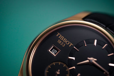 Tissot Couturier Small Second Rose Gold - Watches & Crystals