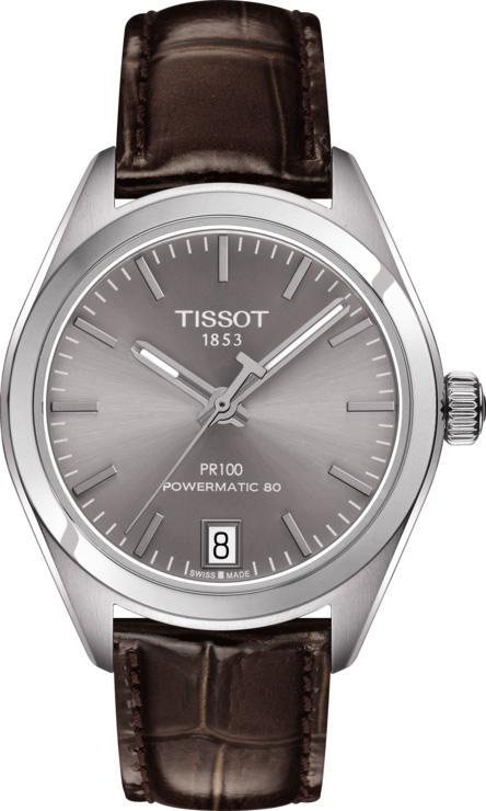 Tissot PR 100 Powermatic 80 Date Grey - Watches & Crystals