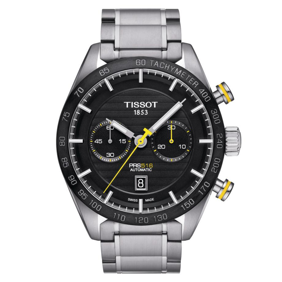 Tissot PRS 516 Chronograph Steel - Watches & Crystals