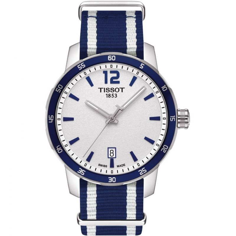 Tissot Quickster Date Blue - Watches & Crystals
