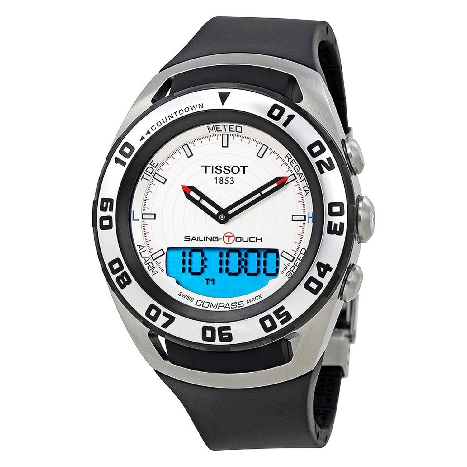 Tissot Sailing Touch Chronograph White - Watches & Crystals