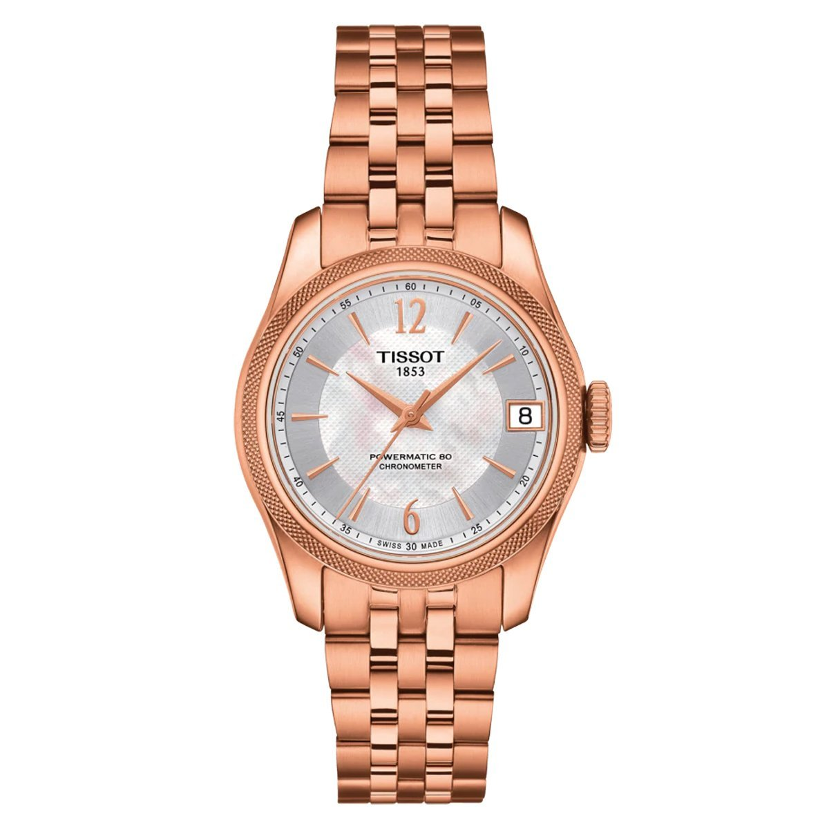 Tissot T-Classic Ballade Powermatic 80 Rose Gold - Watches & Crystals