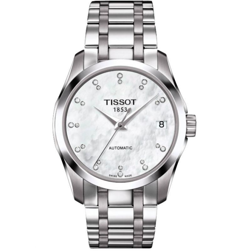 Tissot T-Classic Couturier Automatic Date Steel - Watches & Crystals