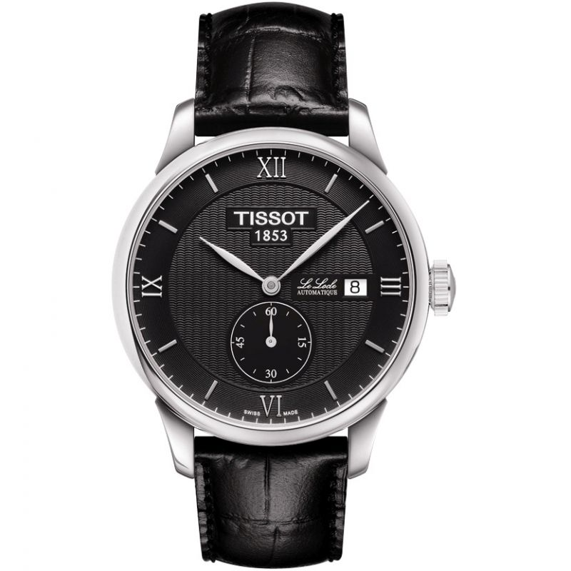 Tissot T-Classic Le Locle Black - Watches & Crystals