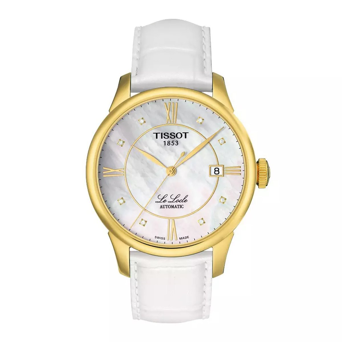 Tissot T-Classic Le Locle Diamond - Watches & Crystals