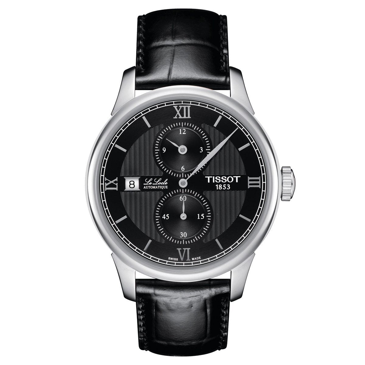 Tissot T-Classic Le Locle Regulator Black - Watches & Crystals