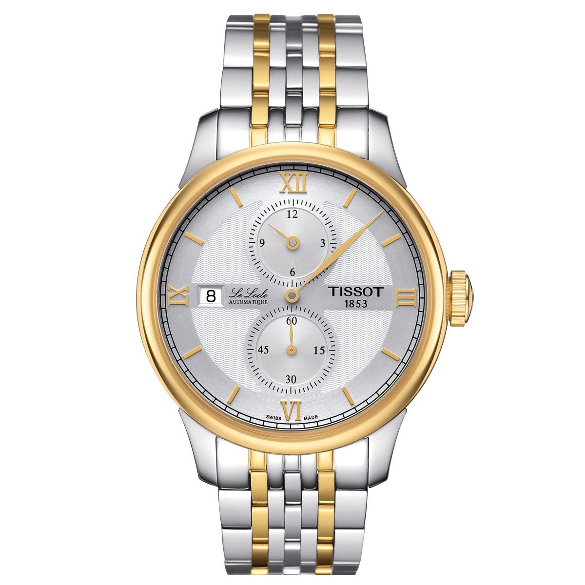 Tissot T-Classic Le Locle Regulator Gold - Watches & Crystals