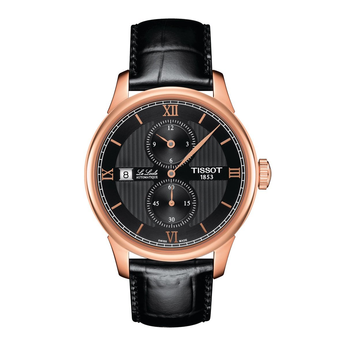 Tissot T-Classic Le Locle Regulator Rose Gold - Watches & Crystals