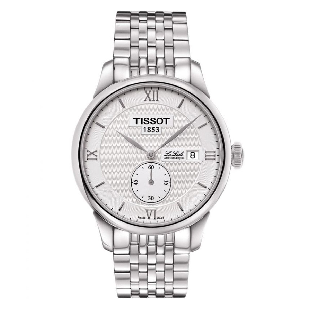 Tissot T-Classic Le Locle White - Watches & Crystals