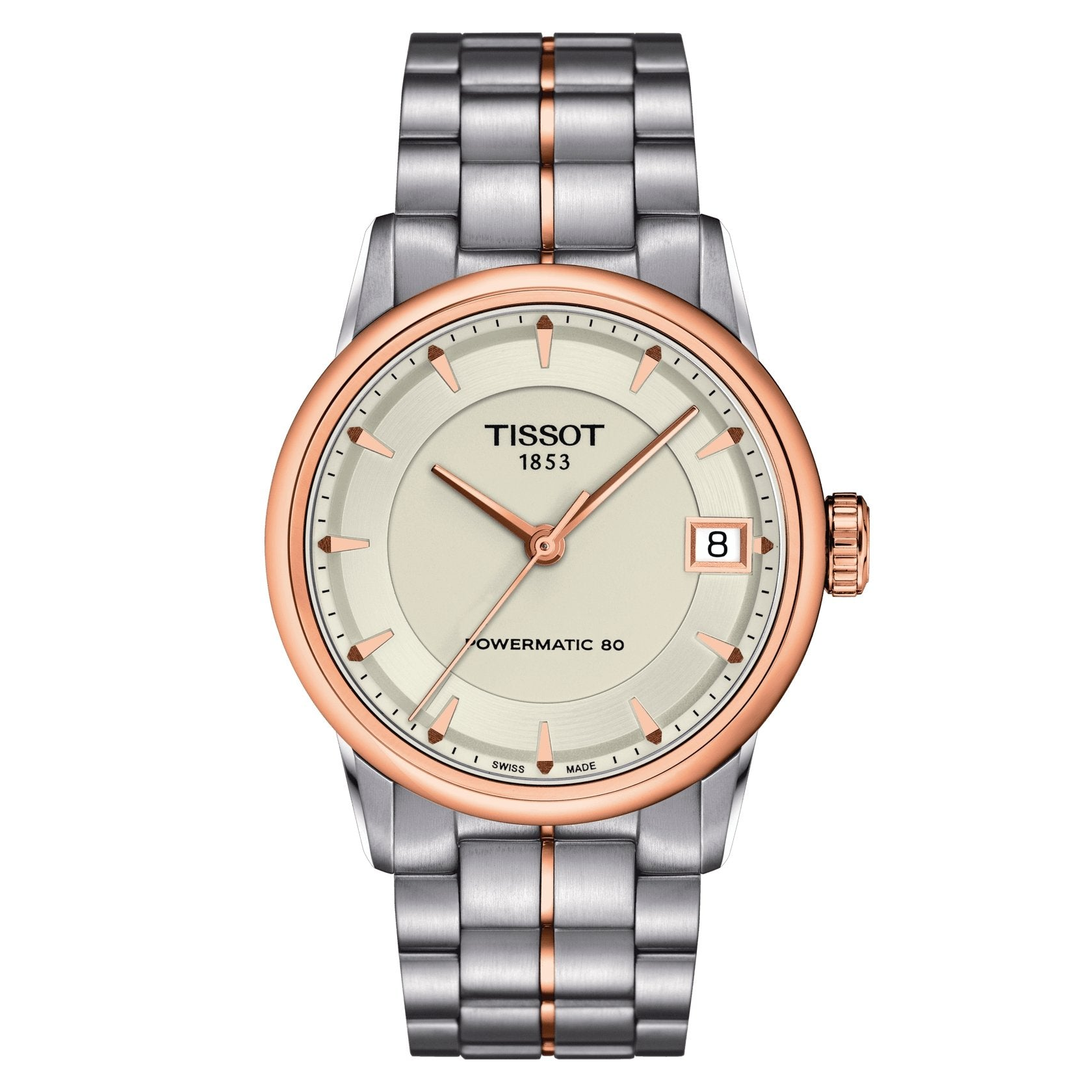 Tissot T-Classic Powermatic 80 Ivory Gold - Watches & Crystals