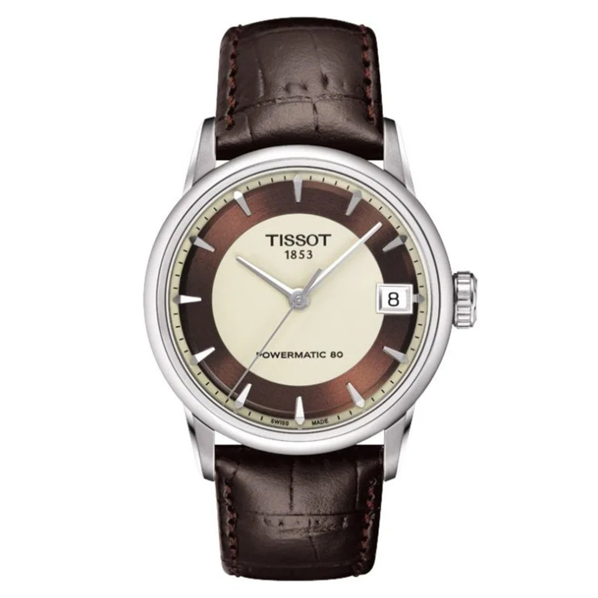 Tissot T-Classic Powermatic 80 Leather - Watches & Crystals