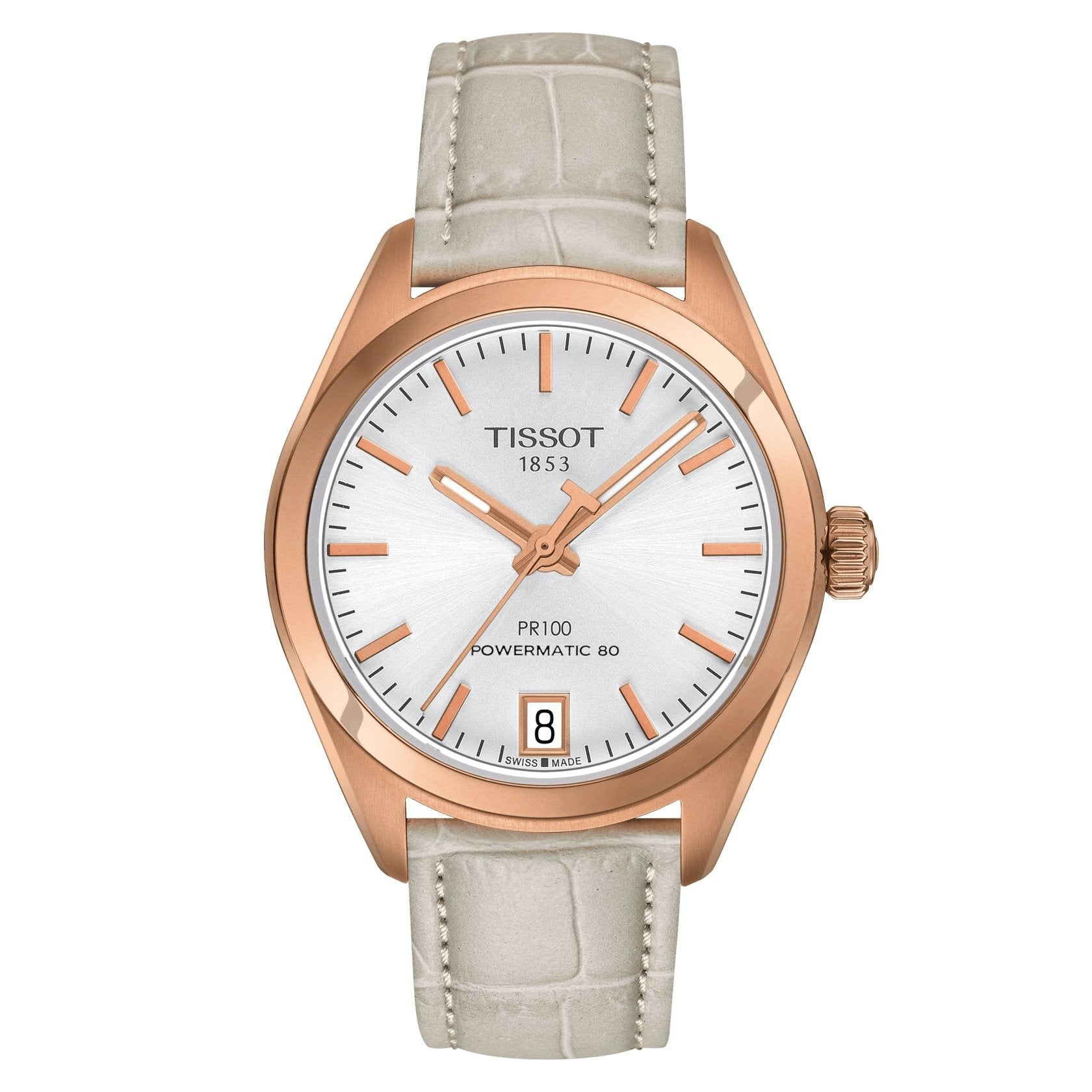 Tissot T-Classic PR 100 Rose Gold - Watches & Crystals