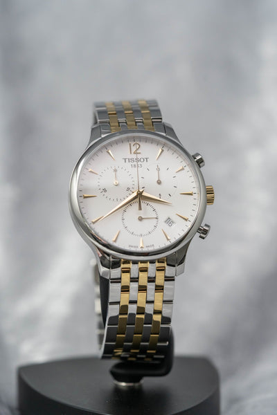 Tissot T-Classic Tradition Chronograph Two Tone - Watches & Crystals