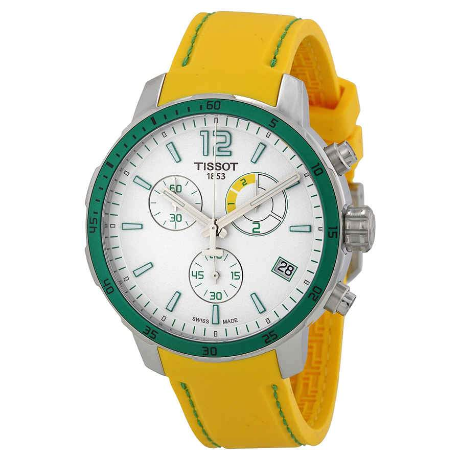 Tissot T-Sport Quickster Chronograph Green - Watches & Crystals