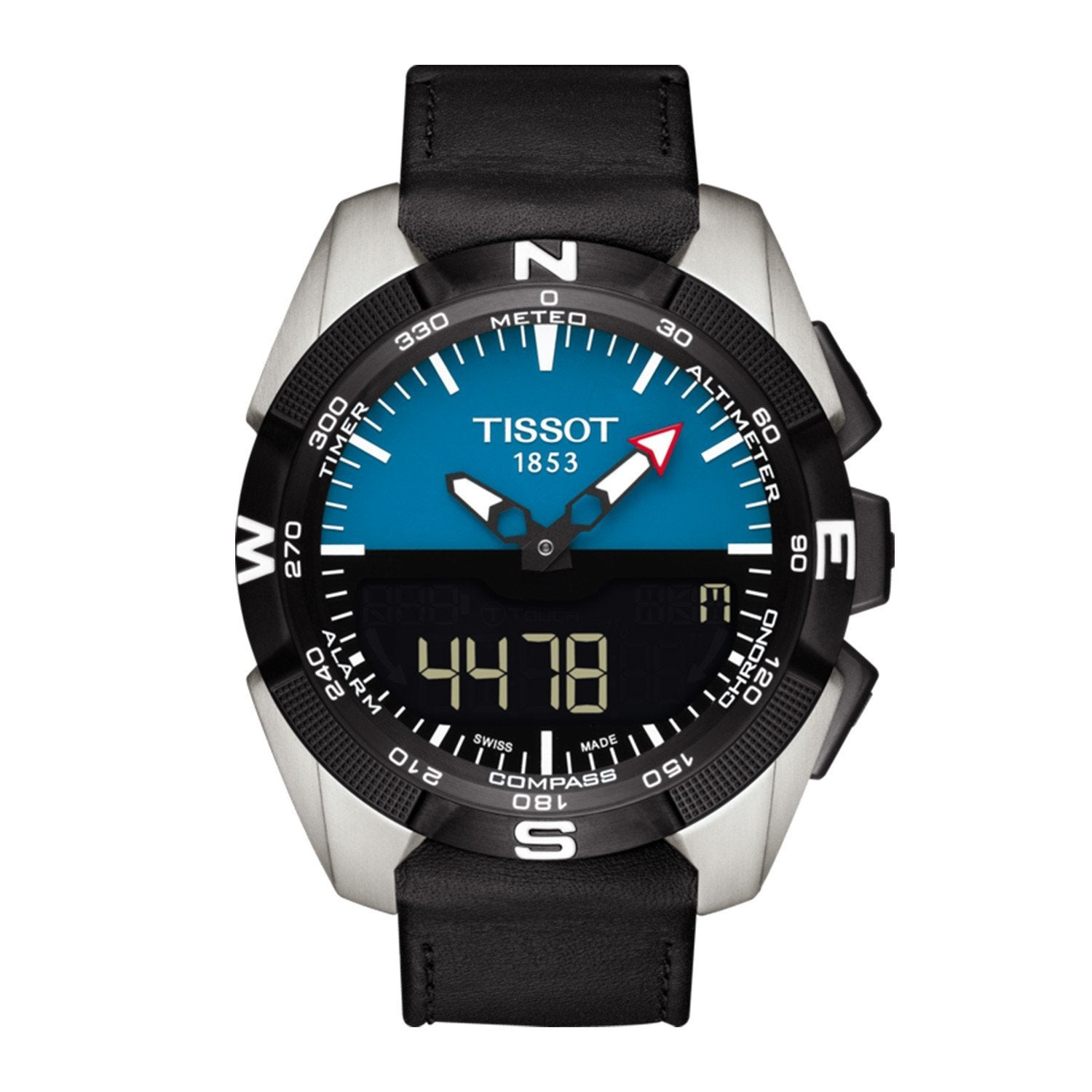 Tissot T-Touch Expert Solar Chronograph Blue - Watches & Crystals