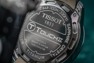 Tissot T-Touch Solar Chronograph Diamond - Watches & Crystals