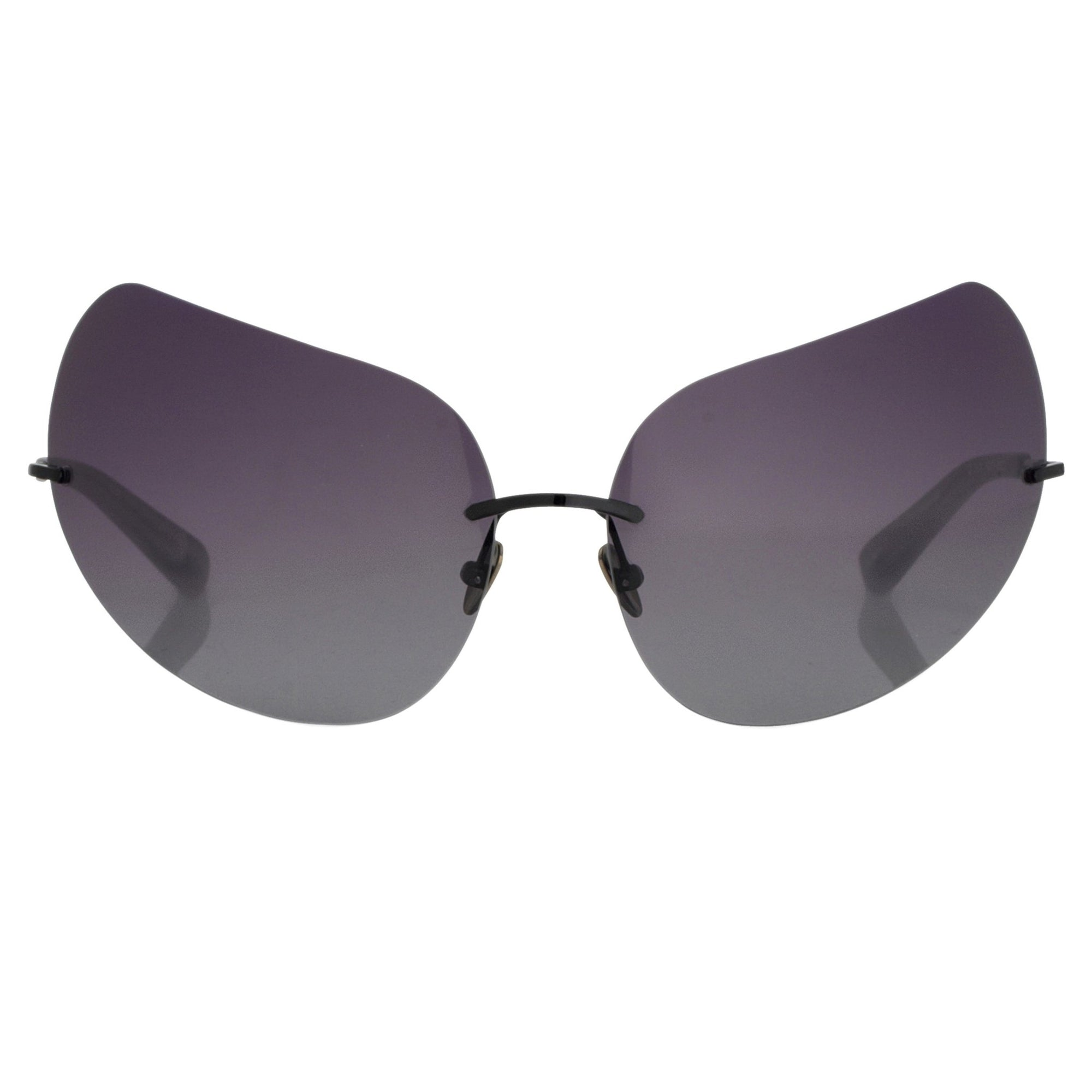 Todd Lynn Sunglasses Special Frame Black and Grey Lenses - TL5C1SUN - Watches & Crystals