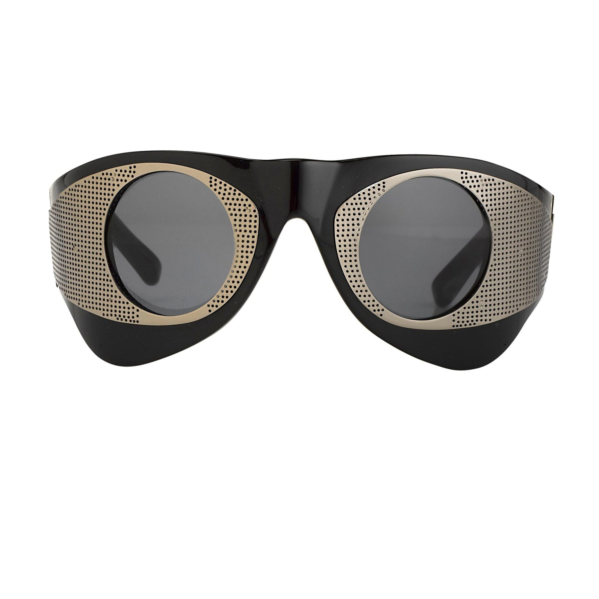 Todd Lynn Sunglasses Special Frame Black/Brown and Grey Lenses - TL3C4SUN - Watches & Crystals