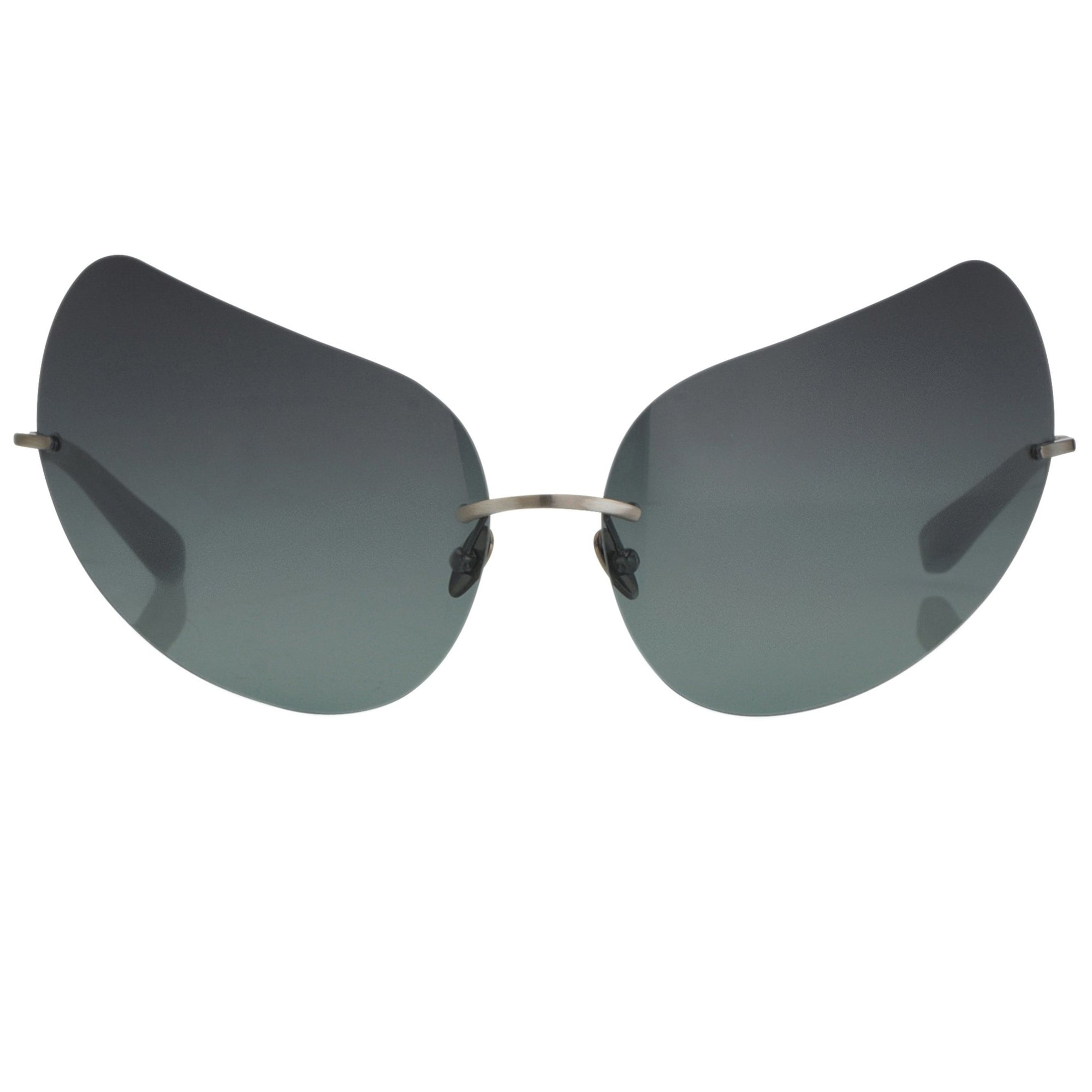 Todd Lynn Sunglasses Special Frame Brown and Dark Green Lenses Category 3 - TL5C2SUN - Watches & Crystals