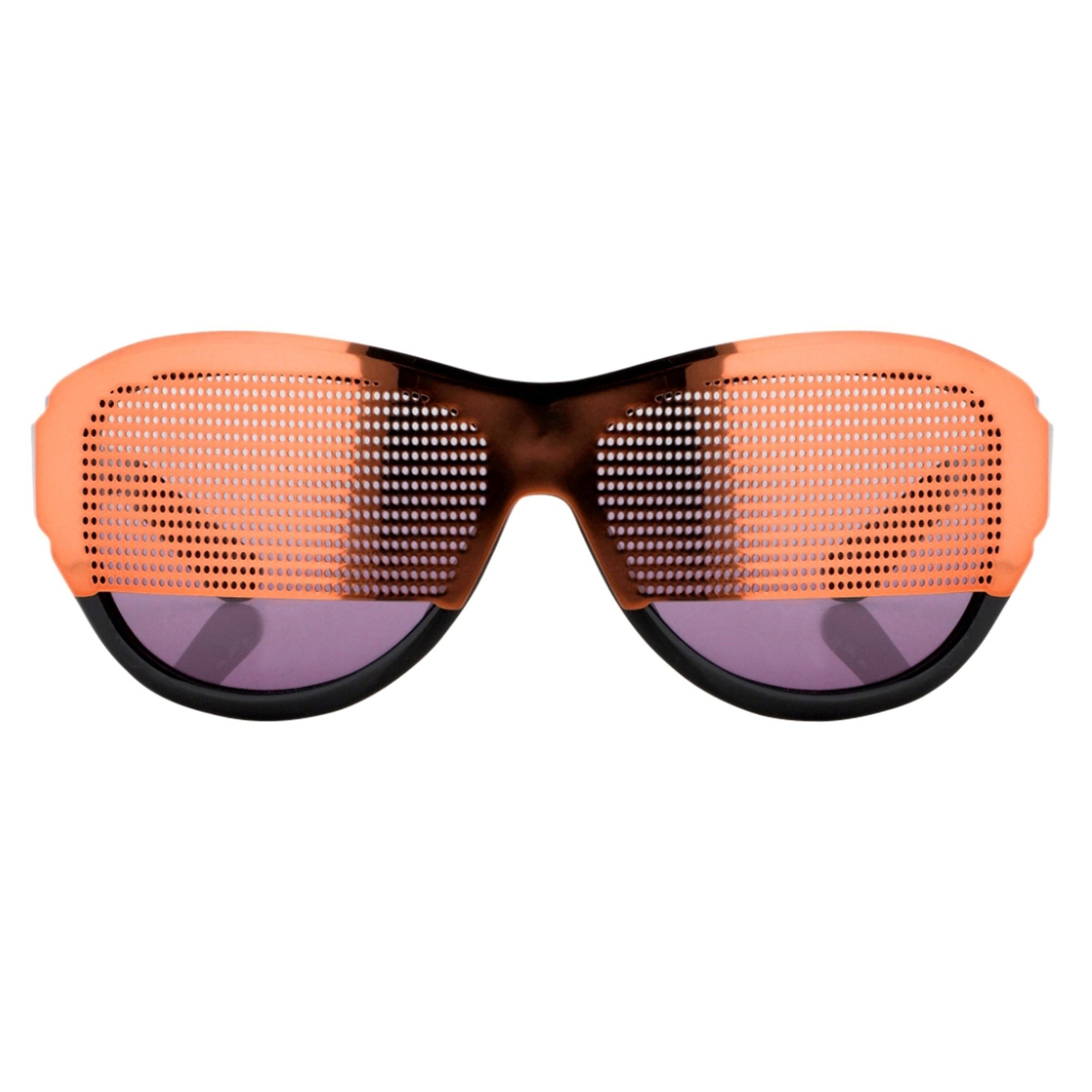 Todd Lynn Sunglasses Special Frame Brown/Black and Purple Lenses - TL2C4SUN - Watches & Crystals