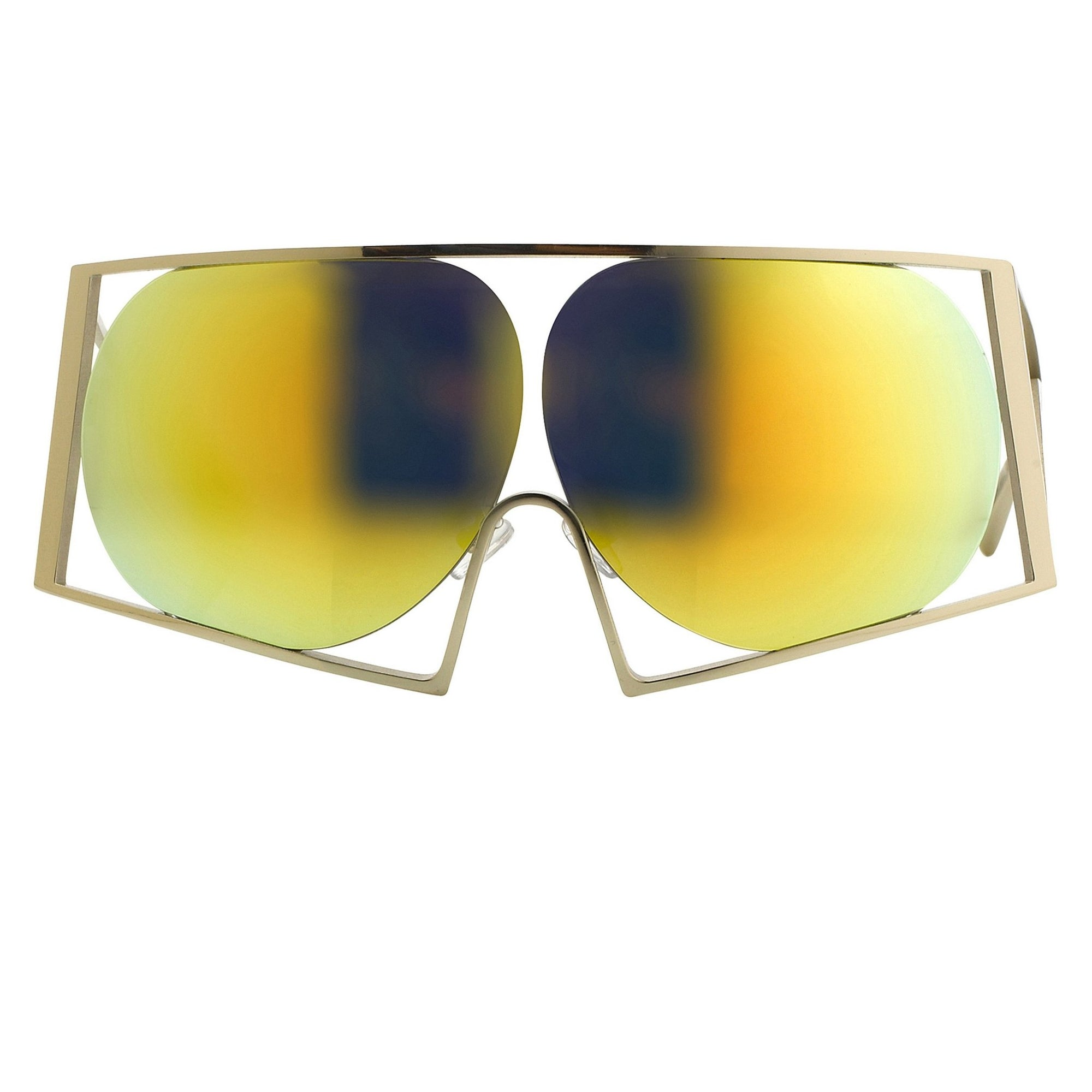 Todd Lynn Sunglasses Special Frame Gold and Revo Yellow Lenses - TL4C1SUN - Watches & Crystals