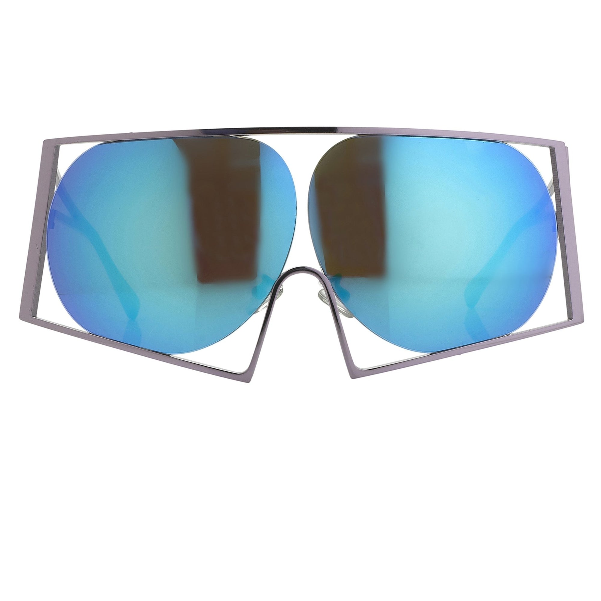 Todd Lynn Sunglasses Special Frame Purple and Revo Blue Lenses - TL4C3SUN - Watches & Crystals