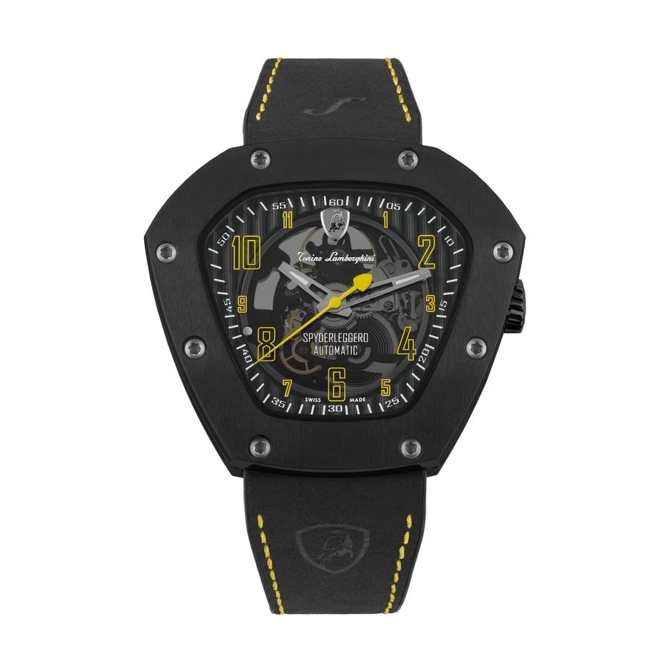 Tonino Lamborghin Spyderleggero Skeleton Yellow - Watches & Crystals