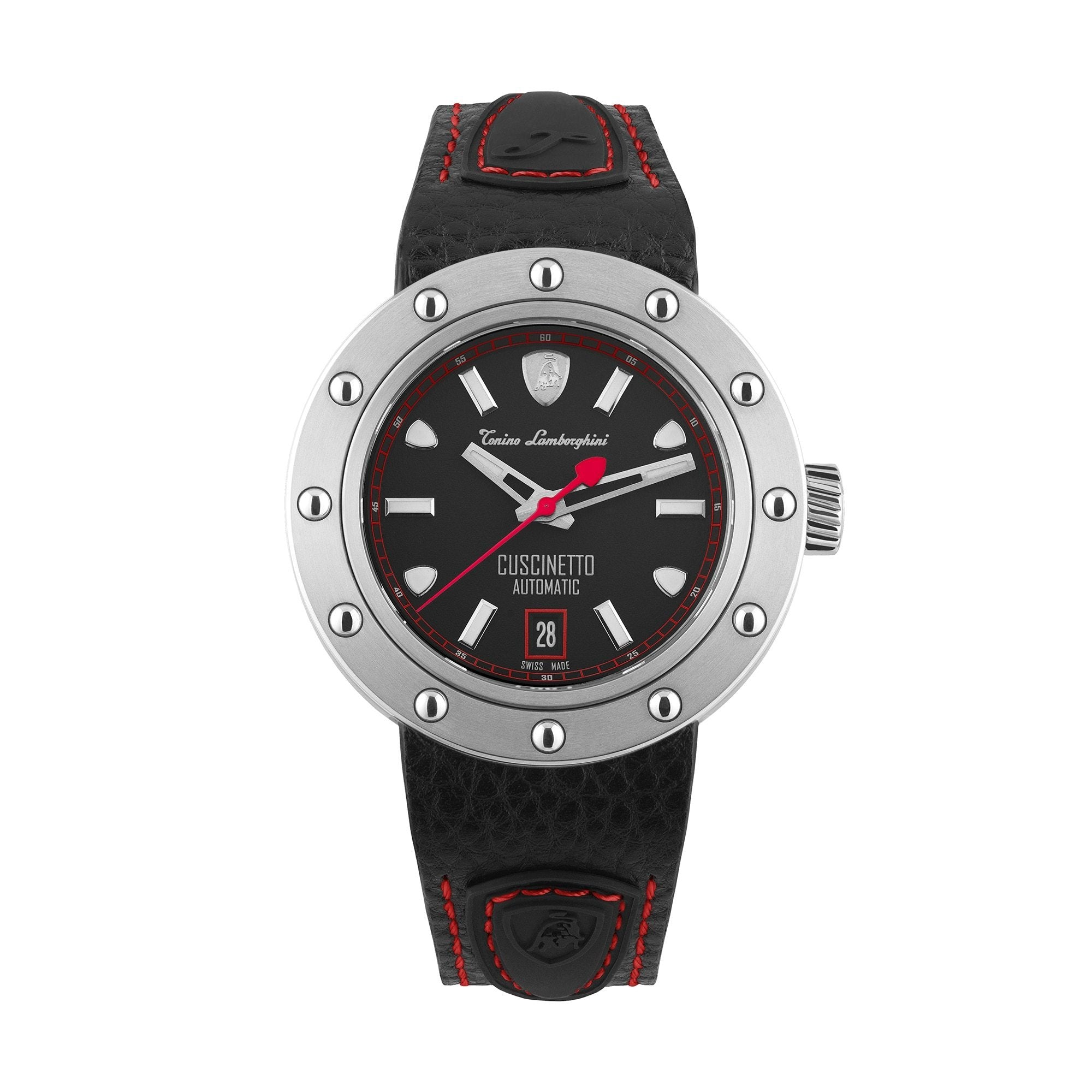 Tonino Lamborghini Cuscinetto Date Red - Watches & Crystals