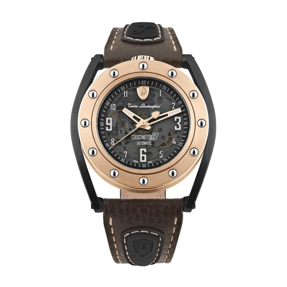 Tonino Lamborghini Cuscinetto R IP Rose Gold - Watches & Crystals
