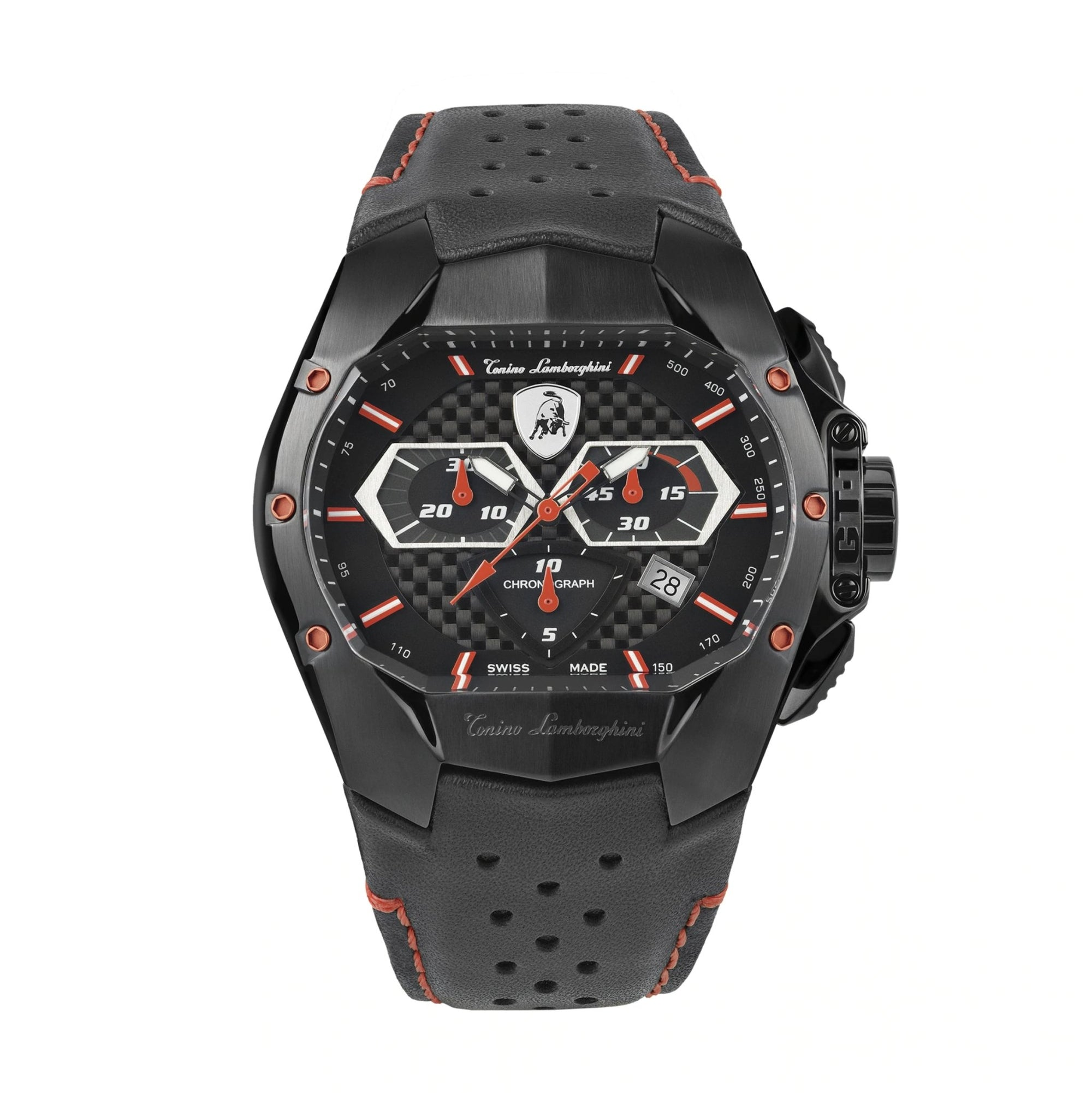 Tonino Lamborghini GT1 Chronograph Red - Watches & Crystals