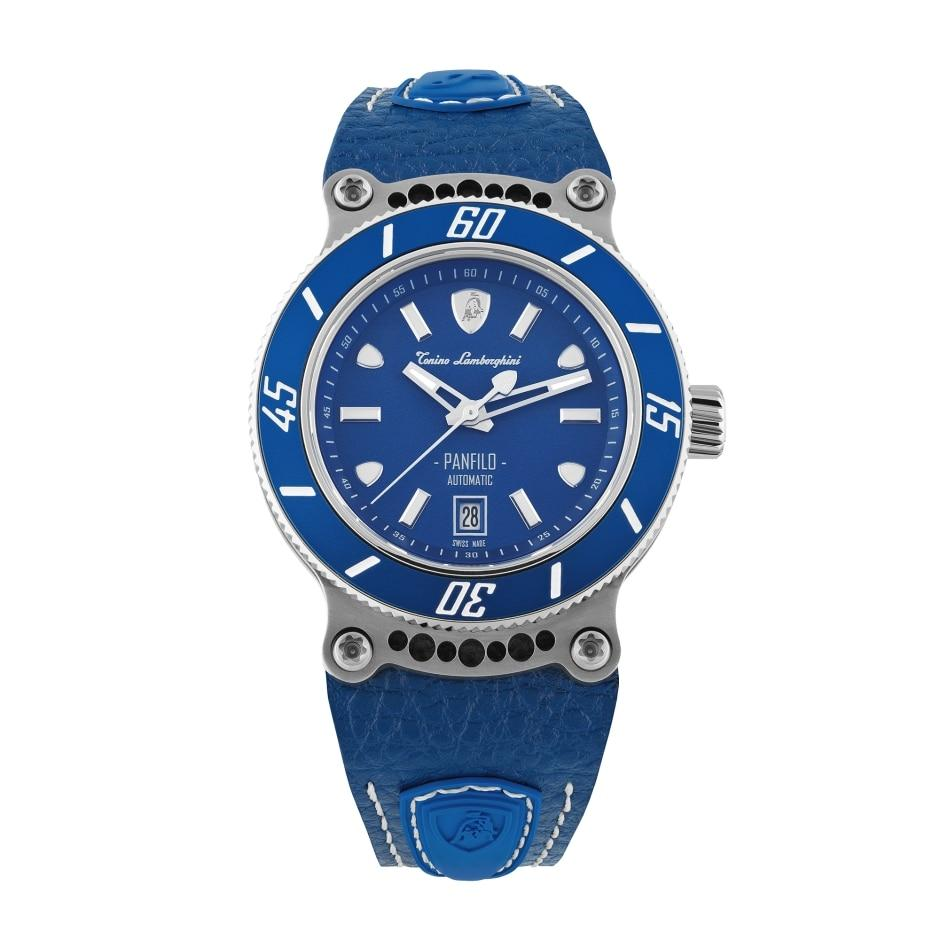 Tonino Lamborghini Panfilo Date Blue - Watches & Crystals