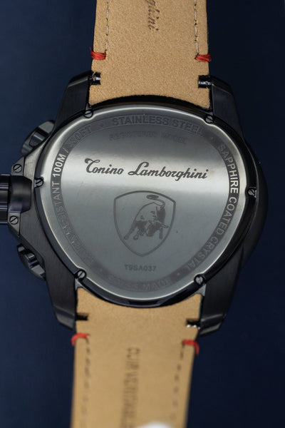 Tonino Lamborghini Spyder Chronograph Date Red - Watches & Crystals