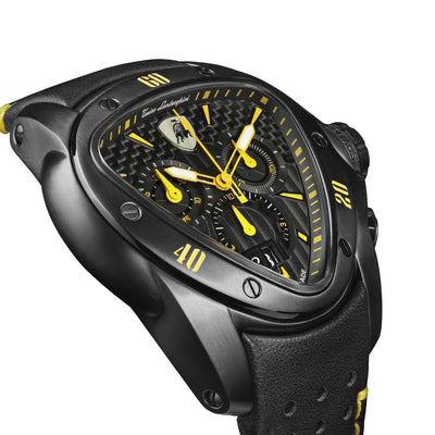 Tonino Lamborghini Spyder Chronograph Date Yellow - Watches & Crystals