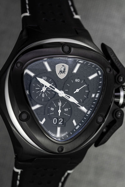 Tonino Lamborghini Spyder X Chronograph Date Black - Watches & Crystals