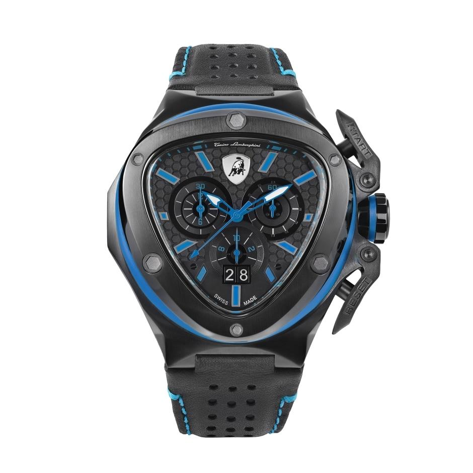 Tonino Lamborghini Spyder X Chronograph Date Blue - Watches & Crystals
