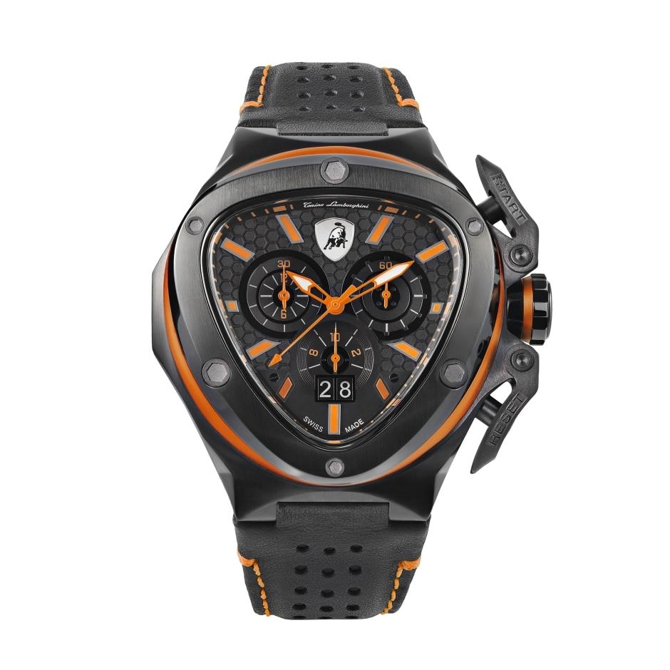 Tonino Lamborghini Spyder X Chronograph Date Orange - Watches & Crystals