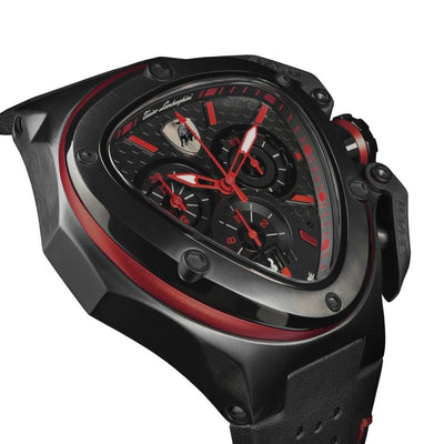 Tonino Lamborghini Spyder X Chronograph Date Red - Watches & Crystals