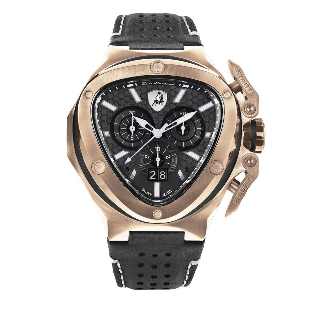 Tonino Lamborghini Spyder X Chronograph Date Rose Gold - Watches & Crystals