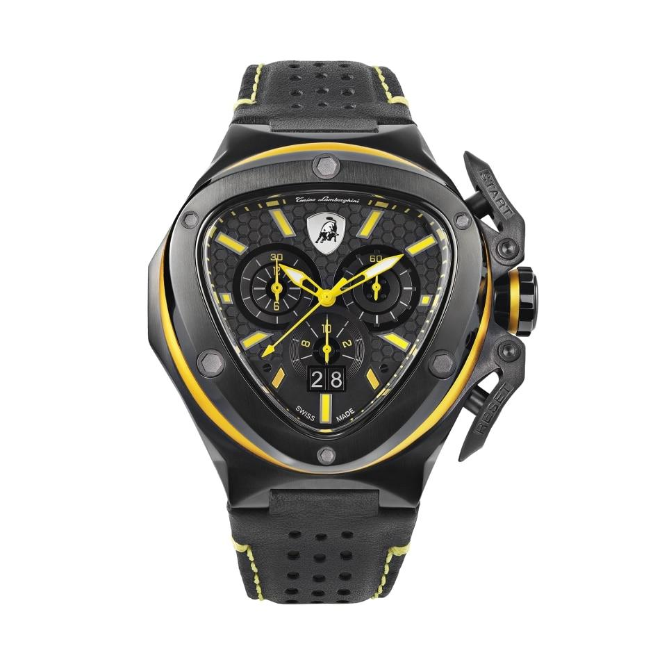 Tonino Lamborghini Spyder X Chronograph Date Yellow - Watches & Crystals