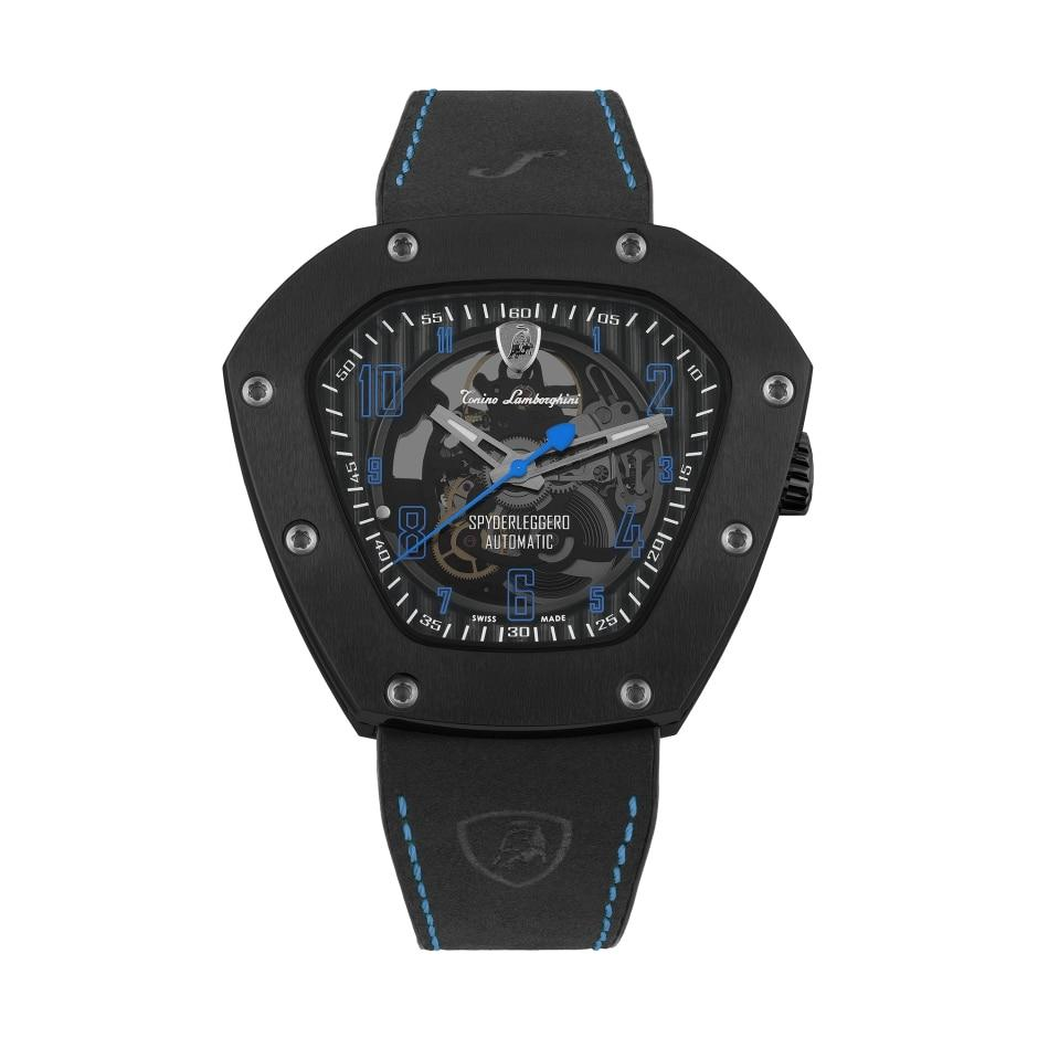 Tonino Lamborghini Spyderleggero Skeleton Blue - Watches & Crystals