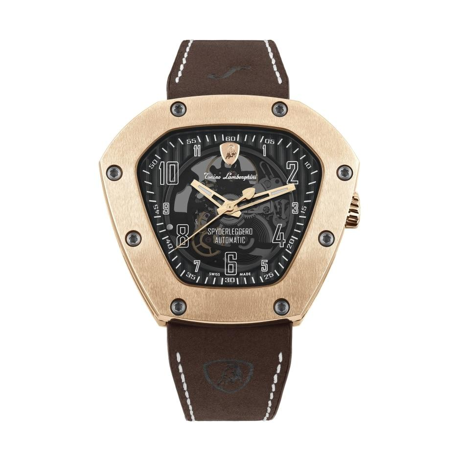 Tonino Lamborghini Spyderleggero Skeleton IP Rose Gold - Watches & Crystals