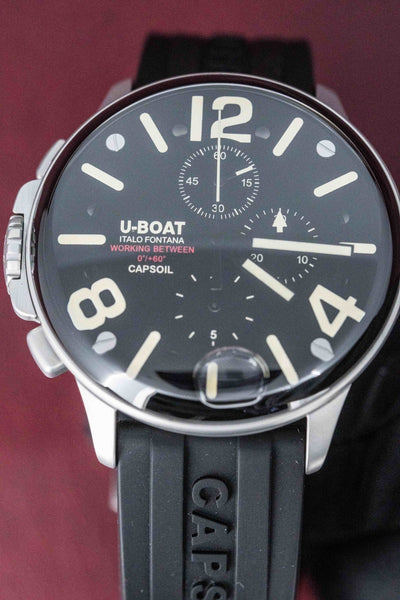 U-Boat Capsoil Chronograph Stainless Steel - Watches & Crystals
