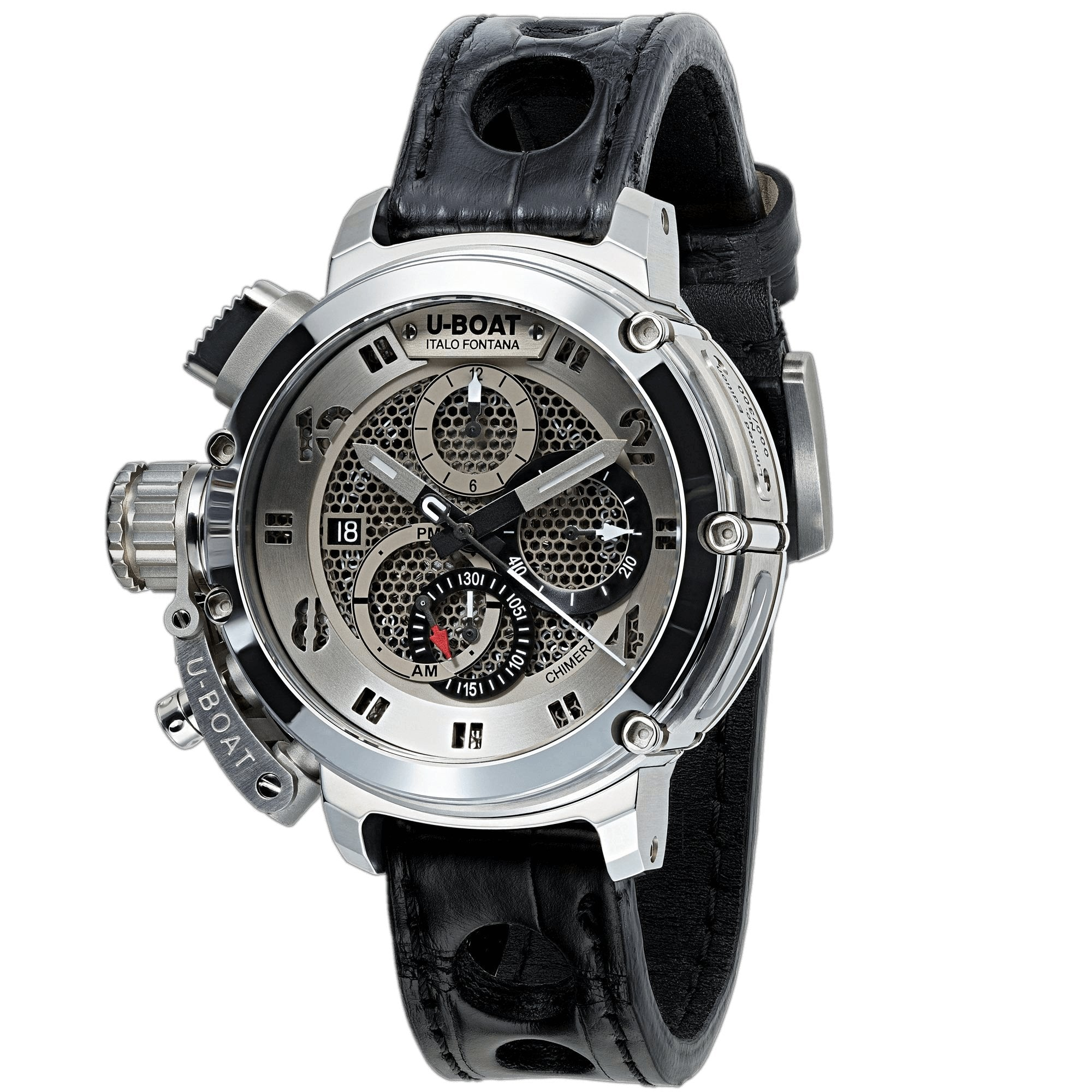 U-Boat Chimera 46 Chronograph Stainless Steel Limited Edition - Watches & Crystals