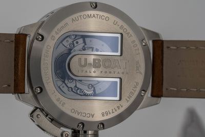 U-Boat Classico 45MM Date Beige - Watches & Crystals