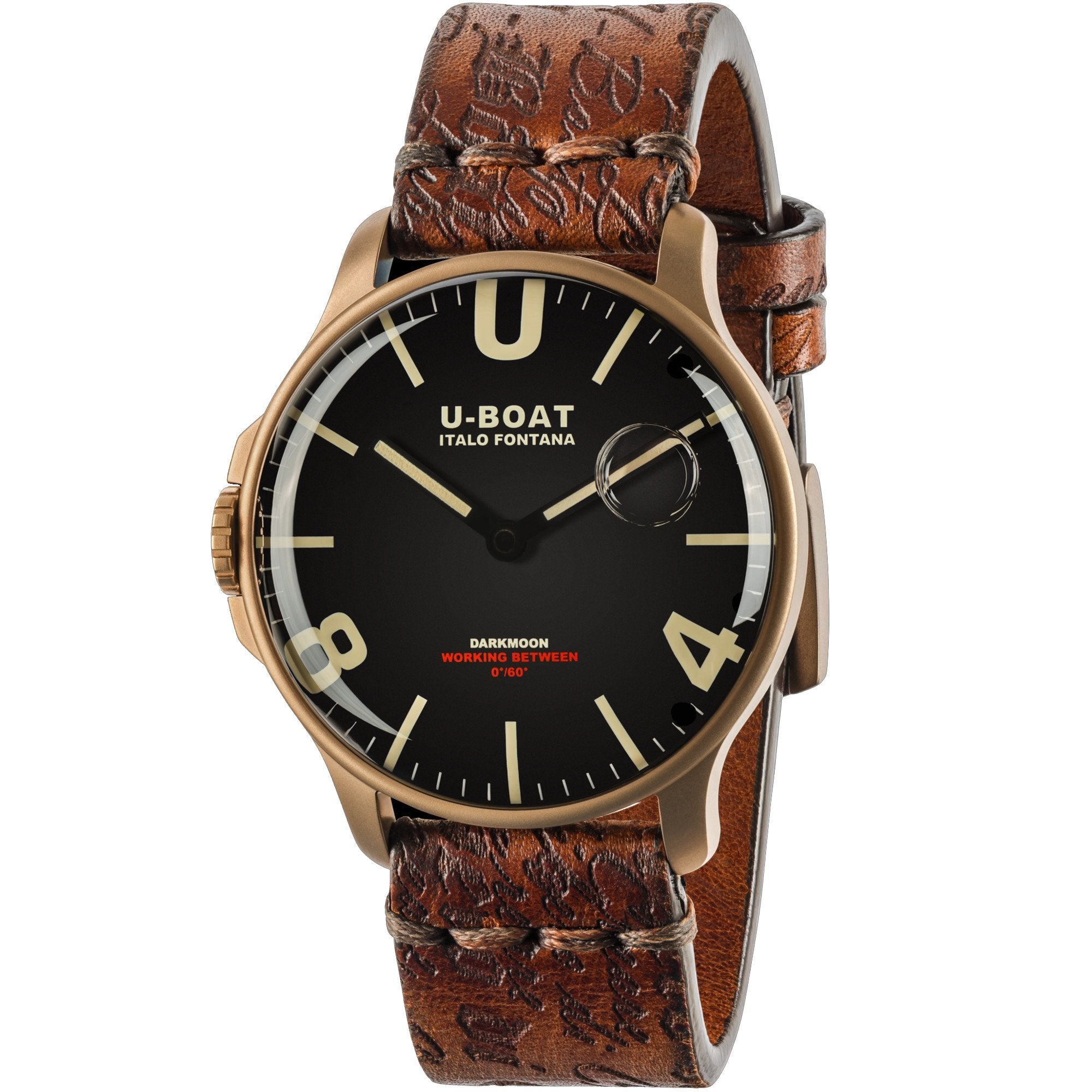 U-Boat Darkmoon 44 IP Bronze - Watches & Crystals