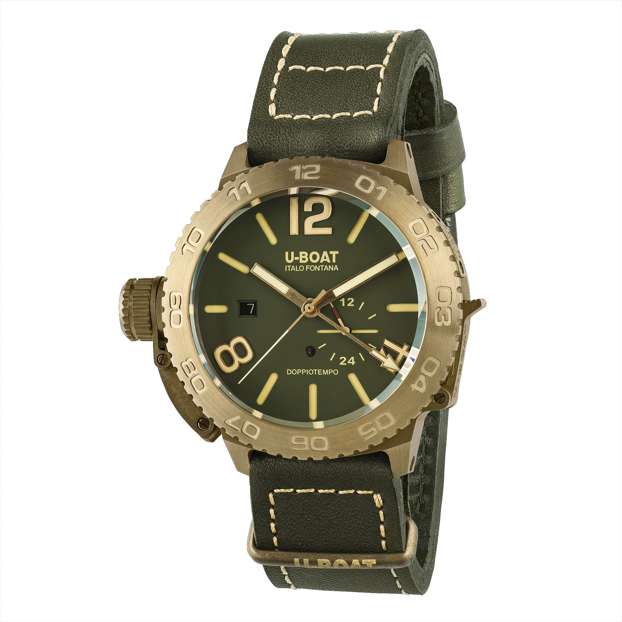 U-Boat Doppiotempo Date Green - Watches & Crystals