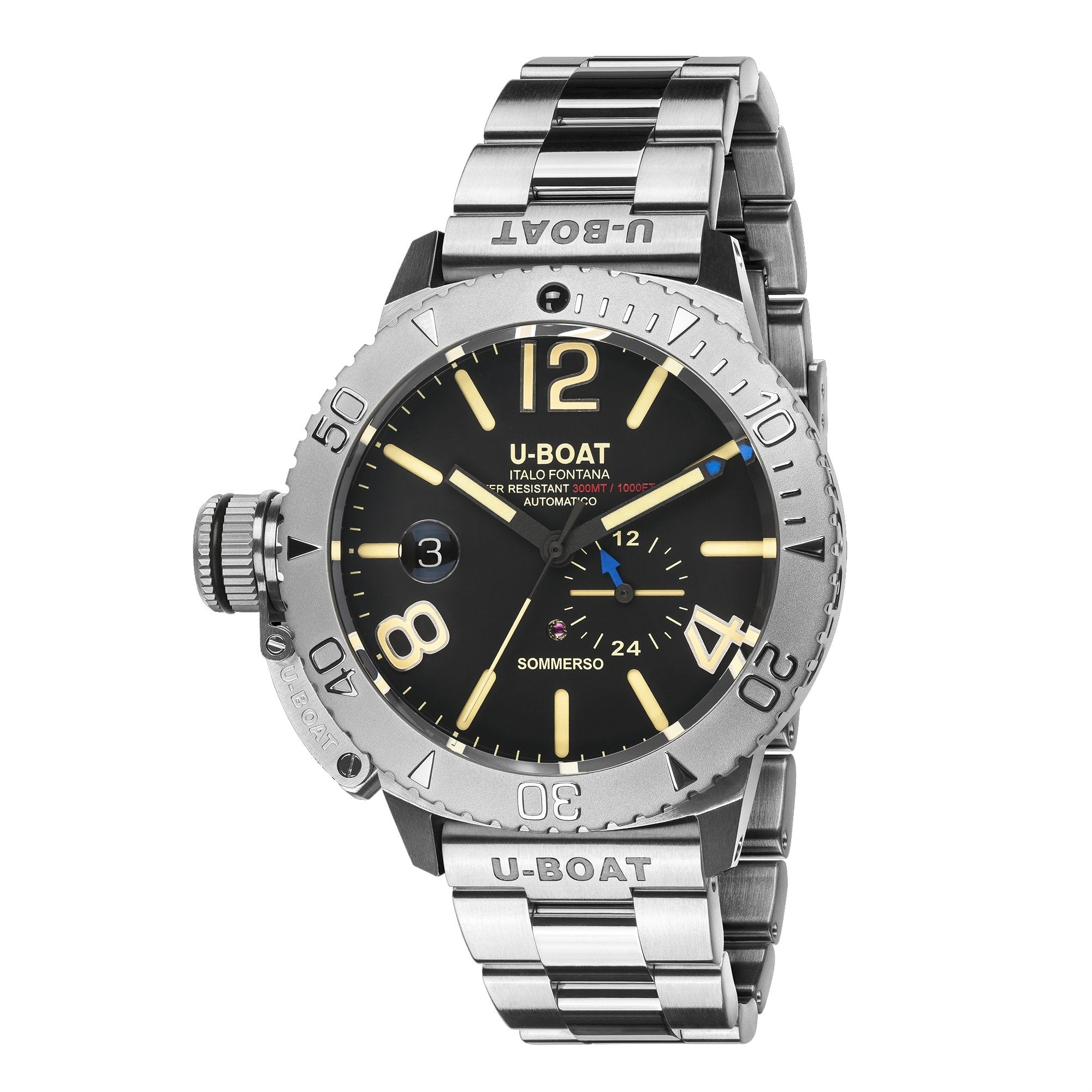 U-Boat Sommerso Diver Stainless Steel - Watches & Crystals