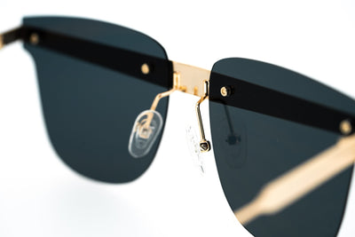 United Nude Sunglasses D-Frame Gold Black With Grey Lenses Category 3 UN2C4SUN - Watches & Crystals