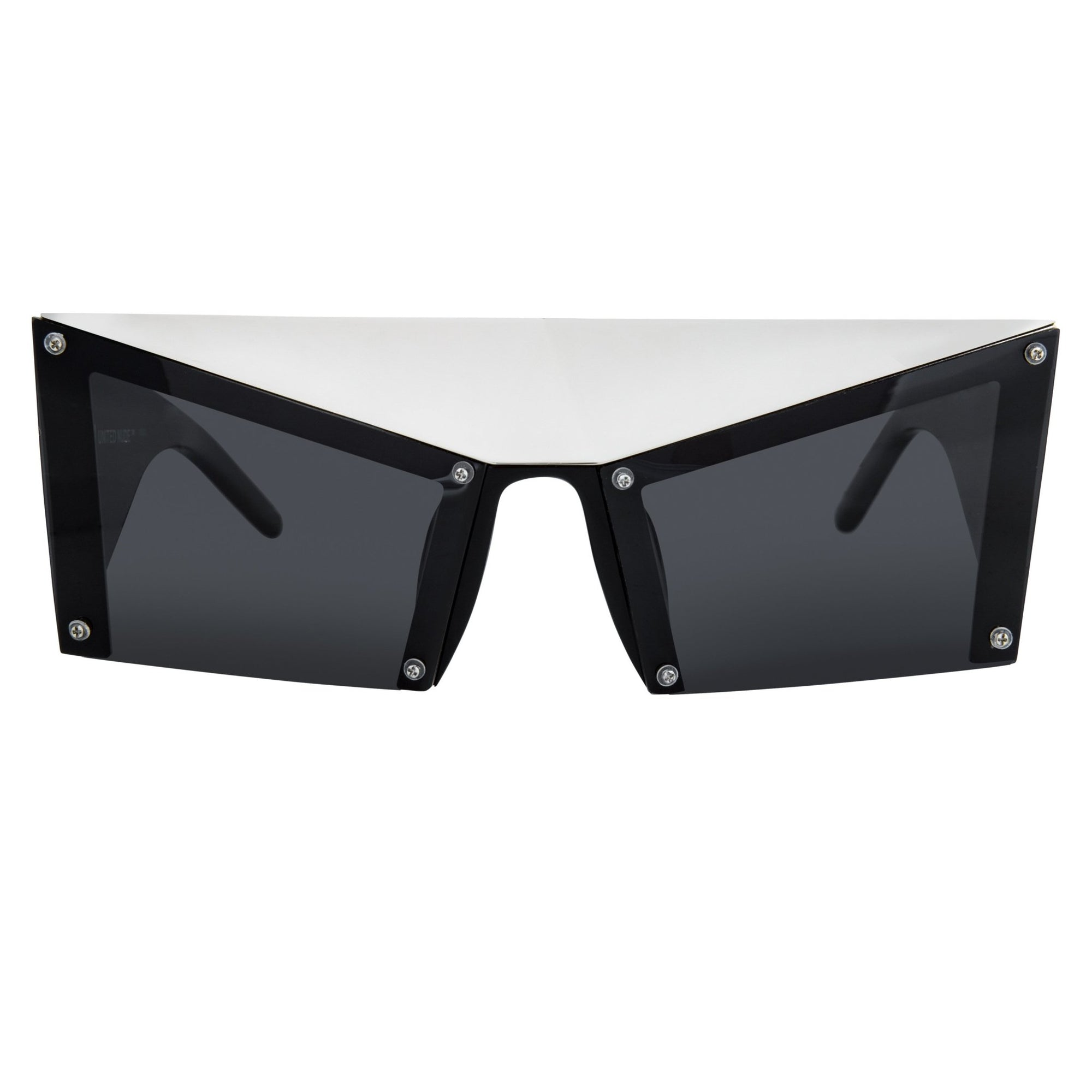 United Nude Sunglasses Special Silver Black With Grey Lenses Category 3 UN1C2SUN - Watches & Crystals