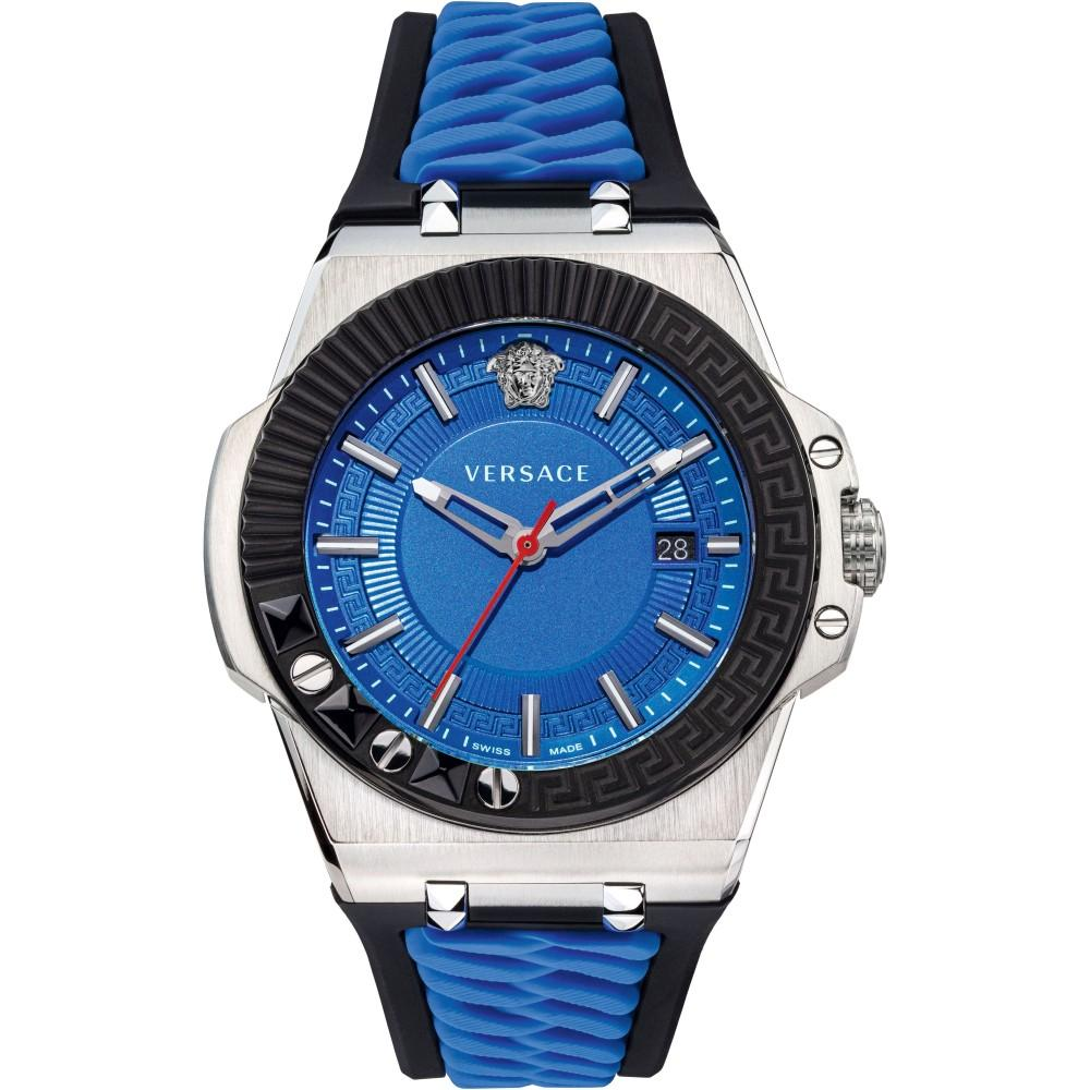 Versace Chain Reaction Blue - Watches & Crystals